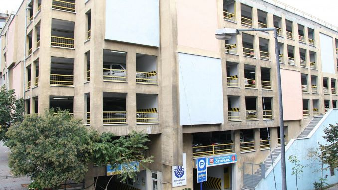 gedikpasa storey car park was shut down