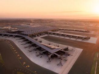 مطار اسطنبول هو المدرج