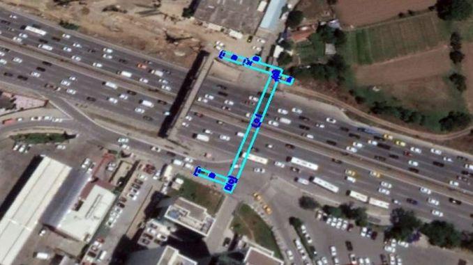 пешеходният мост на Гозтепе в Истанбул се подновява