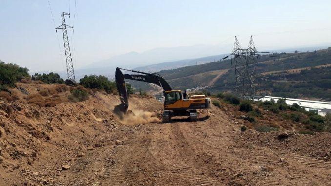 road works of izmir democracy university started