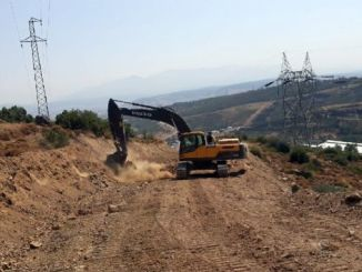 road works of izmir democracy university started