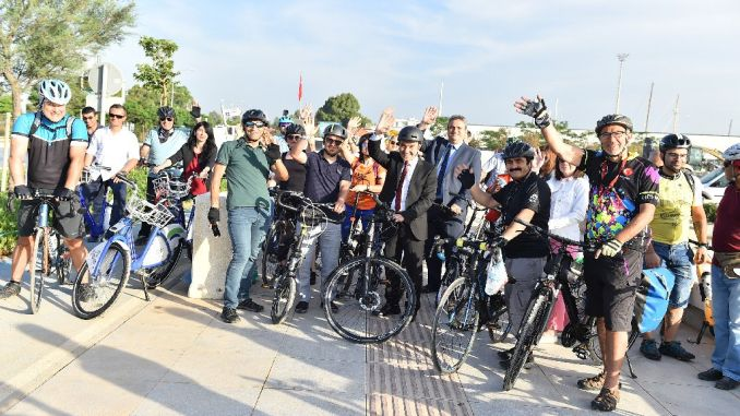 Izmir to come on before the turkey was elected to the city bike project
