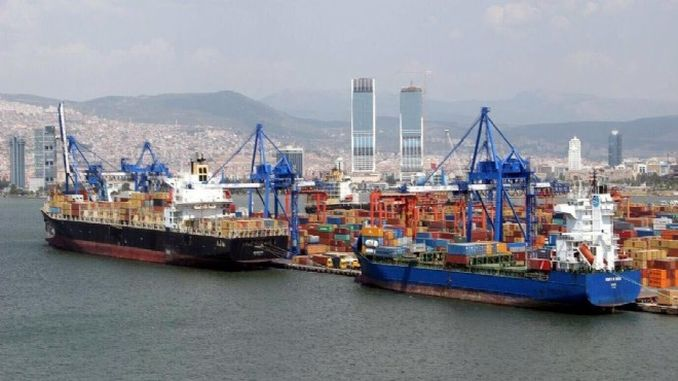 export and import decrease in izmir in june