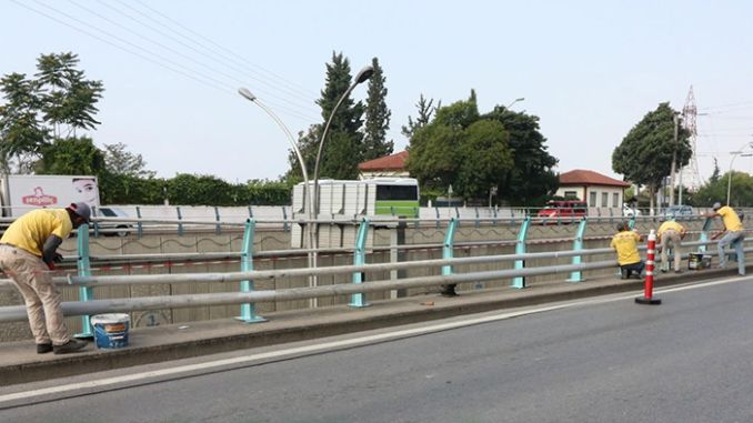 dive and bridges on the roadside