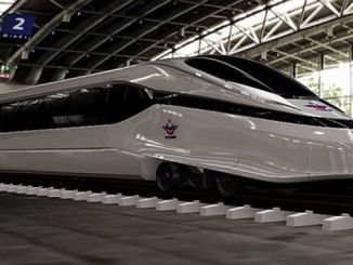 spindle high-speed trains on te rails