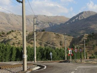 level crossings on pomegranate malatya line improved