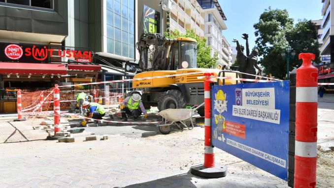 sakarya street is renewing