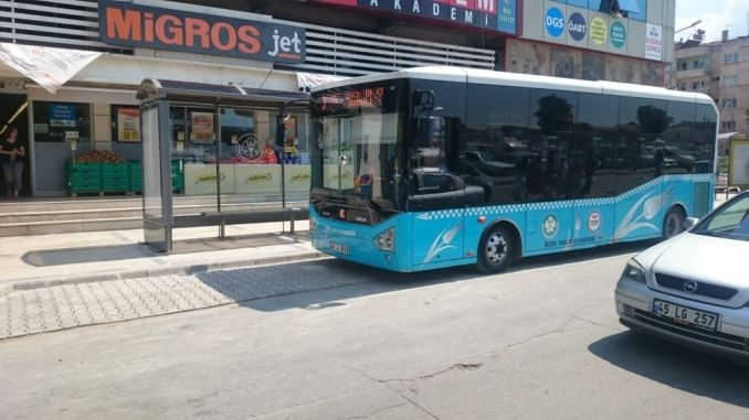 salihliye new bus stops