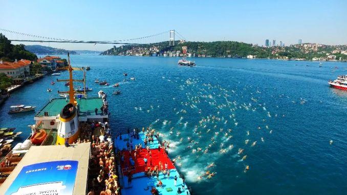 samsung bogazici countdown startete im interkontinentalen schwimmwettkampf