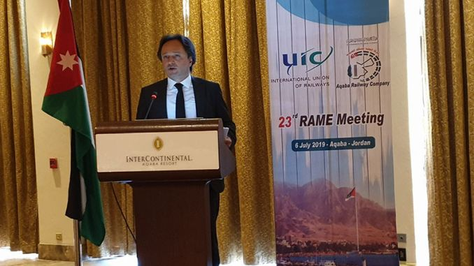 general director of tcdd was elected as the president of the appropriate uic rame