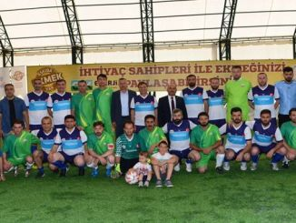 Полная поддержка со стороны сотрудников Tudemsas для футбольного турнира Askida Bread