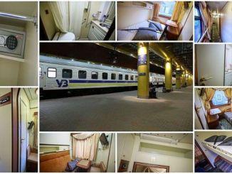 kereta api ukraina vip wagon memulai perjalanan