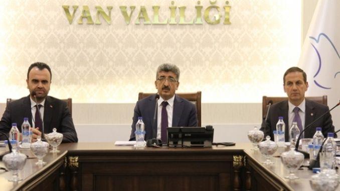 arms for van logistics center project