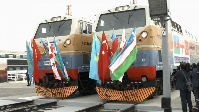 Baku Tbilisi Kars Railway line