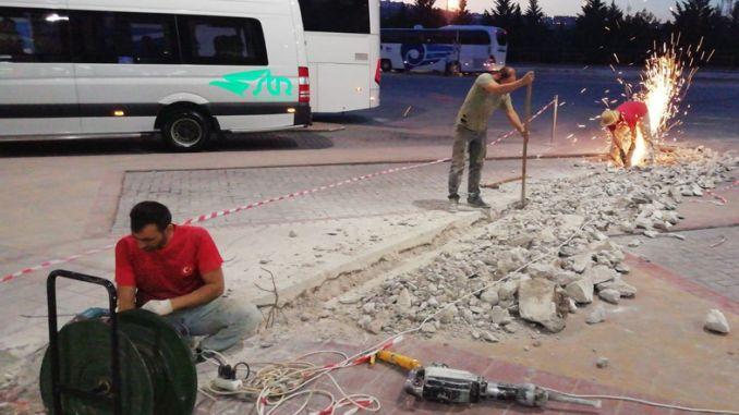 Kocaeli Intercity Bus Terminal Drainage System Renewed