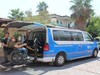 Antalya big city offre un supportu di trasportu per disabili