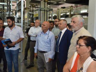 representantes de la industria de ascensores bts nota completa al nuevo centro de pruebas
