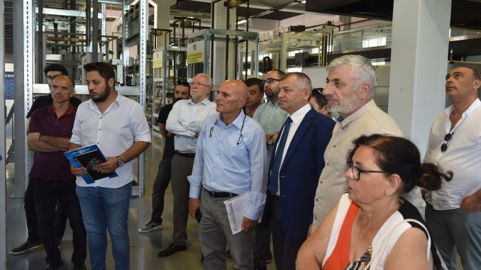 representatives of the elevator industry bts full note to the new testing center