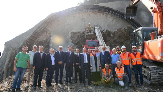 Minister Turhan Kanuni Bulvari Tunel Construction