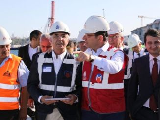 president imamoglu kabatas examined the construction of mahmutbey metro line