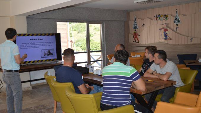 cambasi plateau ski resort employees training