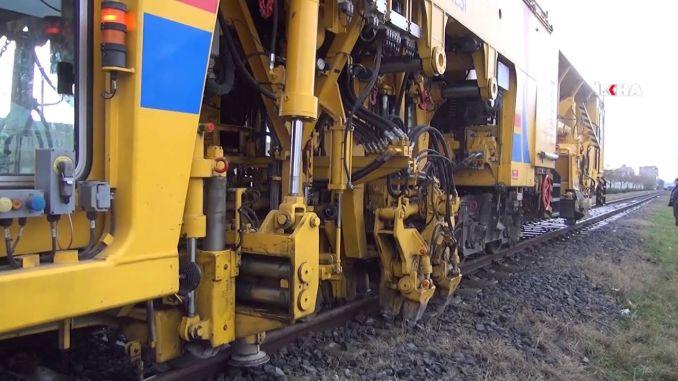 מסילות רכבת טורקיות