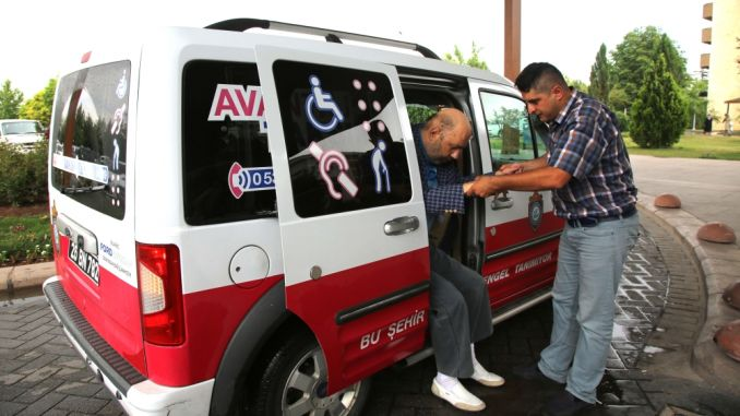 ease of access to disabled people in Eskisehir