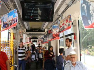 Eskisehir trams silenced by August Victory Day messages