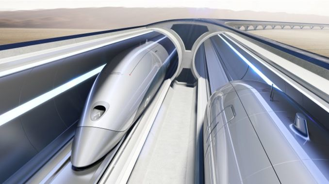 hyperloop werkingsprincipe