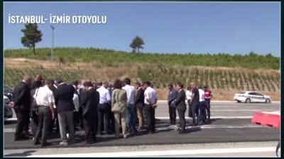 istanbul izmir motorway gun after opening std original