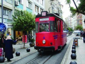 viaggio nella storia a Istanbul Moda Tram