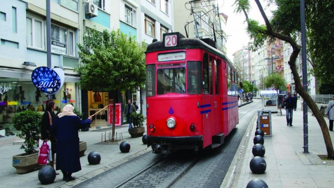 viaxe na historia en Istanbul moda tram