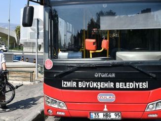 bus permit for folding bicycles in izmir