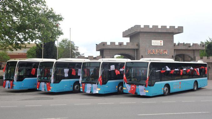 Kahramanmaras livestock exchange bus service started
