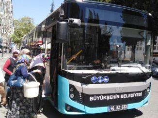 transporte público durante las vacaciones sin cargo