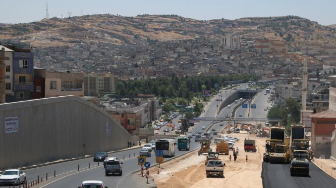 karakoyun junction with asphalt