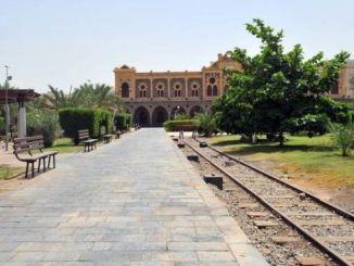 dworzec kolejowy w medynie