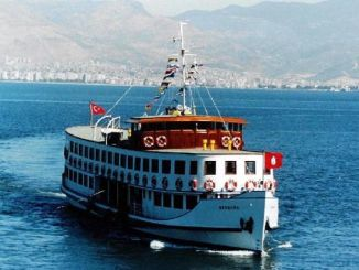 nostalgia ferry departs from izmir corfez
