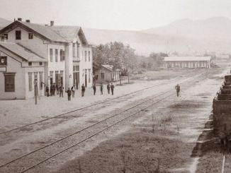 Railway nke ebe obibi ndị mọnk na Tesalonaiki