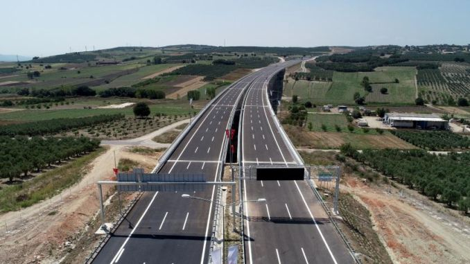 He km of new highways built in turkey years