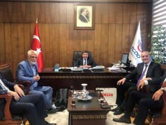 Tursab delegation visited TCDD President