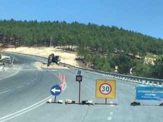 Yediduyular and the roads leading to bertize are being repaired