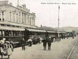 Prvi voz u Haydarpasi