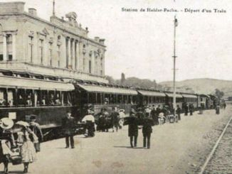 Primul tren în Haydarpasa
