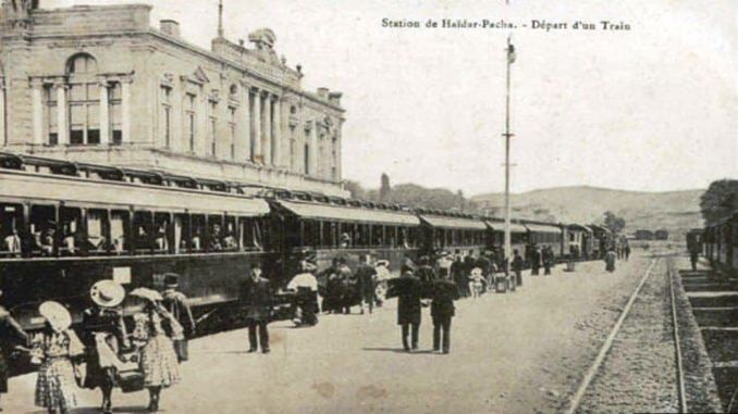 First train in Haydarpasa