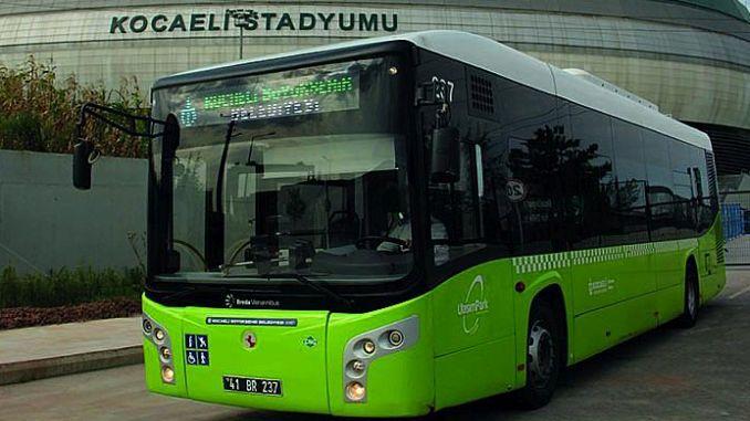 Kocaelispor Golcukspor Macina Karagdagang Expedition ng Bus