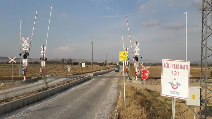 opium karahisarda will become free level crossing with automatic barrier