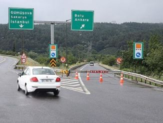 renovation work on the anatolian highway