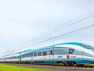 Liña de tren de alta velocidade de Ankara Sivas