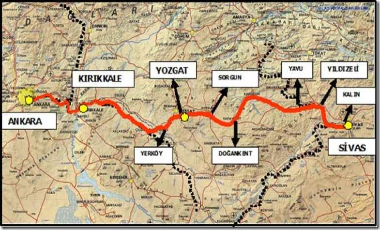 ankara sivas high-speed train